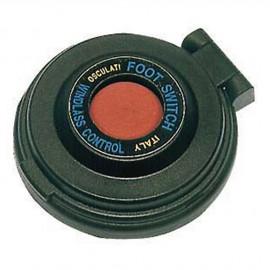 Contacteur à pied pour guindeau - bouton rouge - boîtier noir