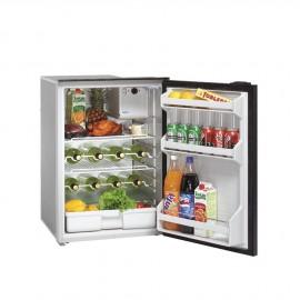 Réfrigérateur Isotherm CR130Drink frontal  inox