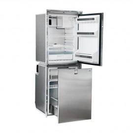 Réfrigérateur Isotherm double compartiment CR260 inox