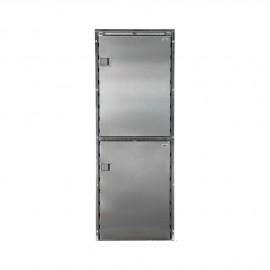 Réfrigérateur Isotherm double compartiment CR220 inox