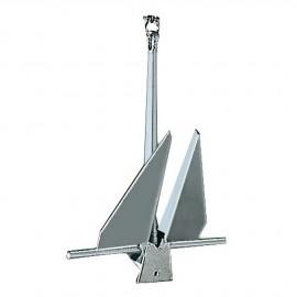 Ancre type Danforth - acier galvanisé - 4 kg