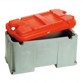 Bac à batterie grande capacité 1 batterie - 120 à 200 A - 605 x 305 x 320 mm