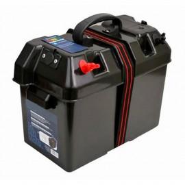Bac à batterie - coffret d'énergie - 100 A - 420 x 225 x 340 mm