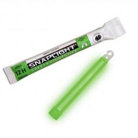 Baton lumineux Snaplight - vert - 12 heures