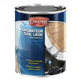 Saturateur bois à l'eau TEAK PROTECT - teck - 1 L