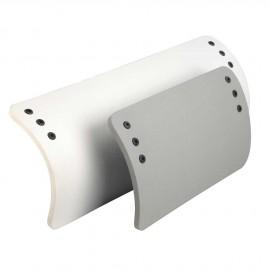 Pare-battage pour RIB blanc 270x440 mm