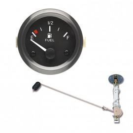 Kit jauge universelle réservoir carburant - 240 - 33 Ohms