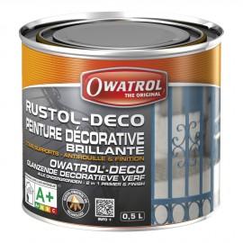 Antirouille RUSTOL-DECO - bleu foncé - 0.5 L