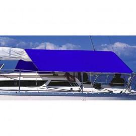 Taud de soleil PVC 260x230 cm - Bleu royal