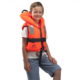 Gilet Typhon, 5 à 8 ans, Orange uni