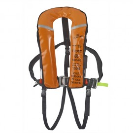 Gilet austral 180 automatique, masque, harnais, sous cutale, flashlight - orange