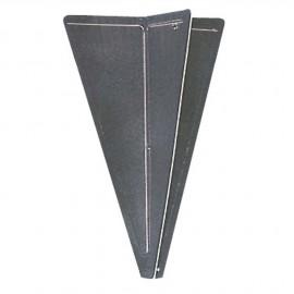 Cône noir - H 470 mm