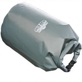 Sac de bord étanche Tbag - Nylon Gris - 44 x Ø 12 cm - 5 L - avec bandoulière