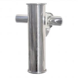 Porte-canne pour tube - tube 22 à 30 mm - fixation par clip
