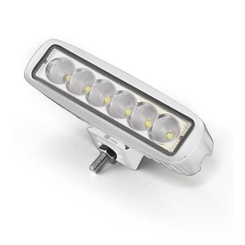Projecteur étanche à LED - rectangulaire - 6 x 3 W