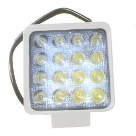 Projecteur étanche à LED - carré - 16 x 3 W