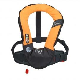 Gilet gonflable EVO Tonic Pro-Sensor sans harnais et sous cutale -orange