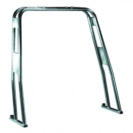 Roll bar - tube inox 30 mm - H120 cm - 125 / 165  cm