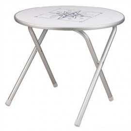 Table de cockpit pliante - ronde - 60 cm