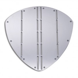 Protection de proue - inox AISI 316 - 350 x 345 mm - triangulaire