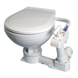 WC manuel Super Compact - lunette plastique