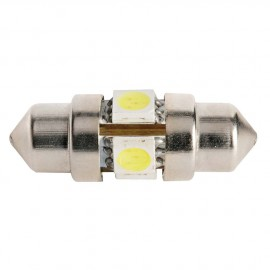 Ampoules LED fusée - 0.8 W - Longueur 31 mm - 4 Led