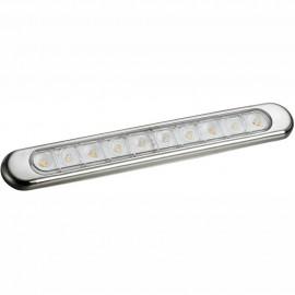 Plafonnier à LED à poser Inox 316 238x34x8,4 mm