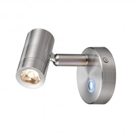 Spots LED aluminium brossé