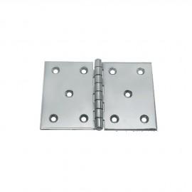 Charnière inox 130 x 90 - 2.5 mm