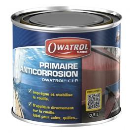 Primaire direct sur rouille OWATROL - CIP - 0.5 L