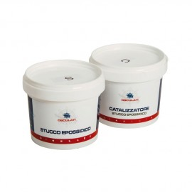 Mastic polyester bicomposant pour reconstruction, incolore - 800 g