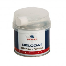 Gelcoat double composant, blanc, brillant - 200g