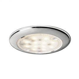 Plafonnier LED sans encastrement Procion - 2.6 W - poli miroir