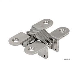 Charnière escamotable - 10 kg 53 mm