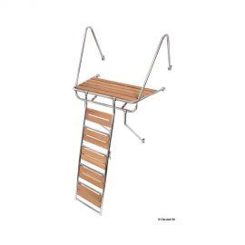 Passerelle échelle pour baignoire + echel. 115 cm