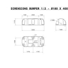Bumper® 1/2 Ø 18 x 40 cm