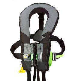 Gilet SL 180 Pro-sensor, harnais, sous cutale - gris