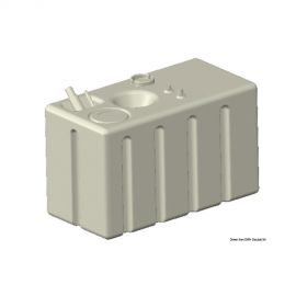 Réservoir essence+diesel horizontal 248 litres