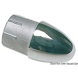 Bouchon terminal pour tubes de 22 mm.