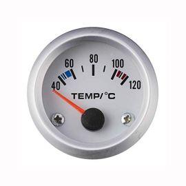 Afficheur température d'eau avec sonde - Ecoline - Ø 52 mm - Fond blanc