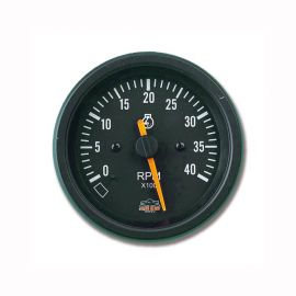 Afficheur compte-tours diesel 0-4000 RPM - G Line - Ø 84 mm - noir