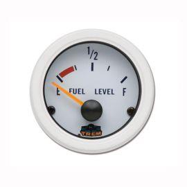 Afficheur niveau de carburant 240-33 ohms - G Line - Ø 52 mm - blanc