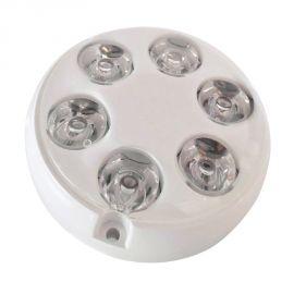 Projecteur sous marin à LED - rond - Ø 90 mm - blanc