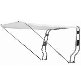 Taud télescopique pour Roll bar - blanc - 145 x 205 cm
