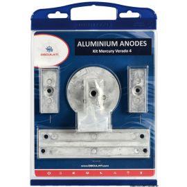Kit anodes zinc pour Mercury pour VERADO 4 / OPTIMAX