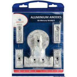 Kit anodes aluminium pour Vérado 6