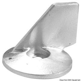 Queue carpe OMC/Johnson/Evinrude/Suzuki aluminium
