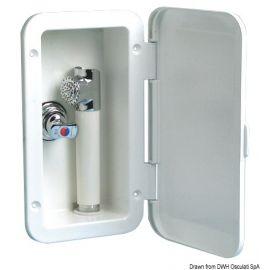 Coffret de douche avec mélangeur - douchette à gâchette Mizar