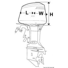 Capote pour tête de moteur HB 2 à 4 CV