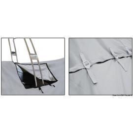 Bâches canots pneumatique, ouverture roll bar - de 4,7 à 9,1 m